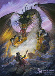 Dragon slayer by Bruzefh