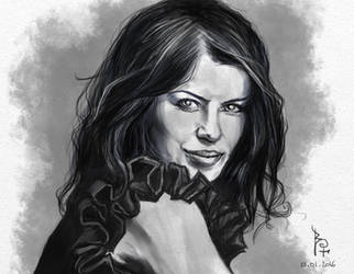 Woman portrait by Bruzefh