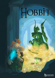 Le Hobbit by Bruzefh