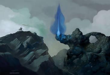 La passe d'Aladin (Aladdin's pass) by Bruzefh