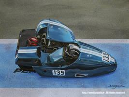 Racing sidecar #139, Albi circuit 2016
