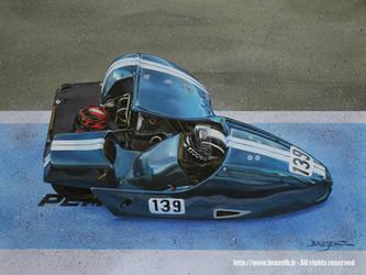 Racing sidecar #139, Albi circuit 2016 by Bruzefh