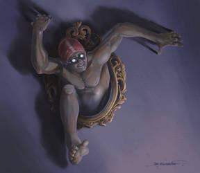 Jim aka Mirror - Glass villain
