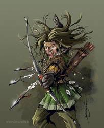 Chasseur de tangues (Hedgehog hunter)