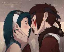 : can i kiss you : by Lala-Mot