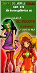 La Capitan Mexico Y Lucia by kiokusanagui