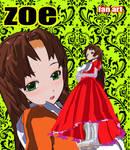 Zoe fan art by kiokusanagui