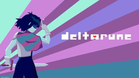 Deltarune - Kris by DarknessClaw