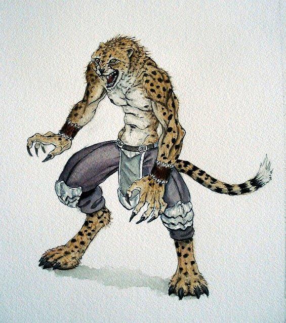Cheetah Warrior by RobertDamnation on DeviantArt