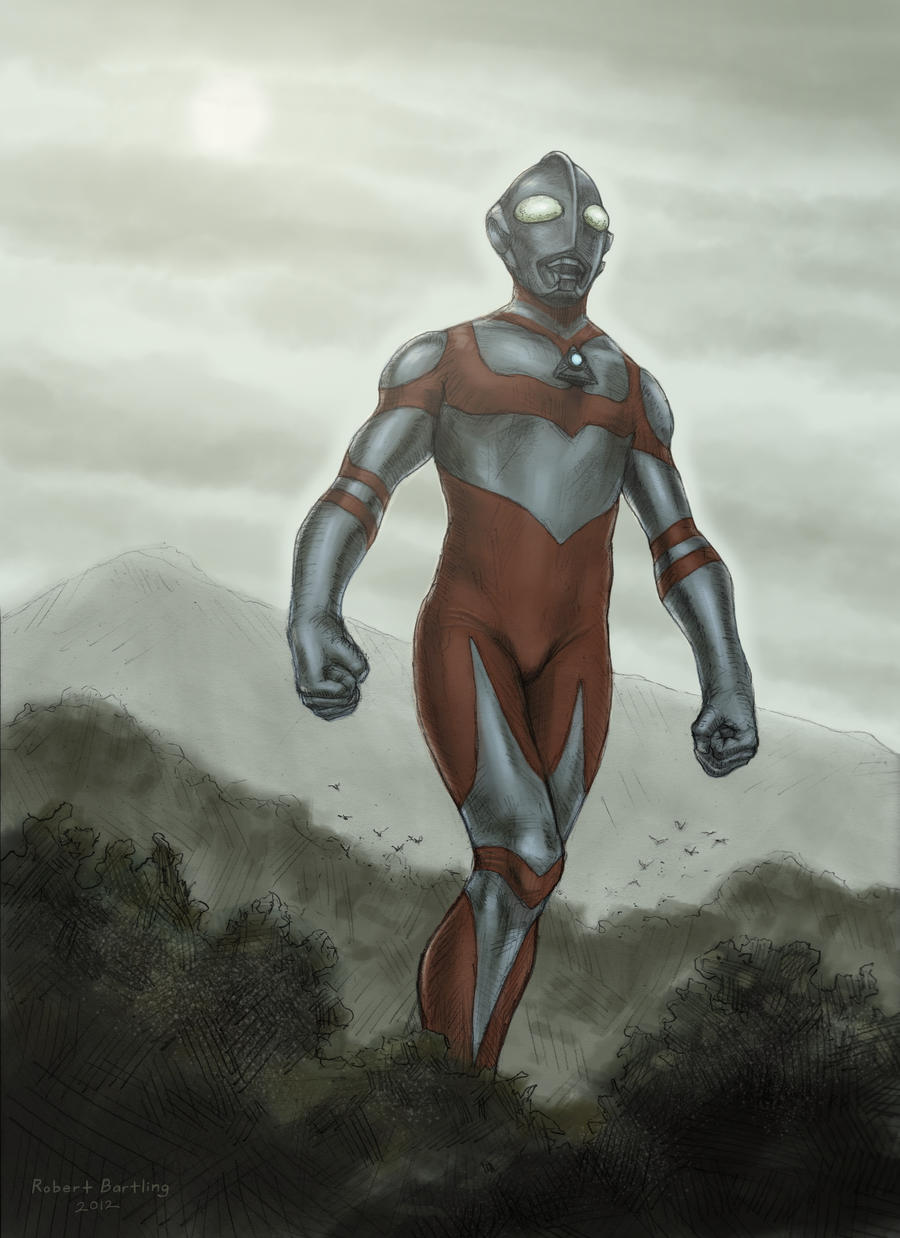 Ultraman Great by RobertDamnation