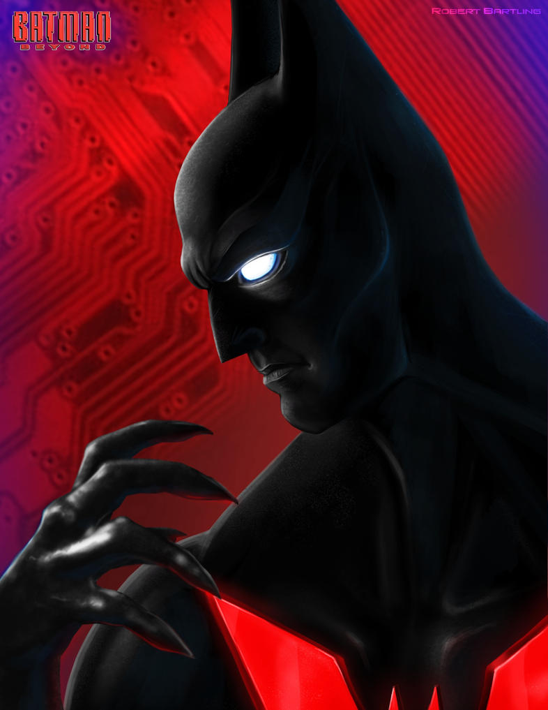 Batman Beyond by RobertDamnation