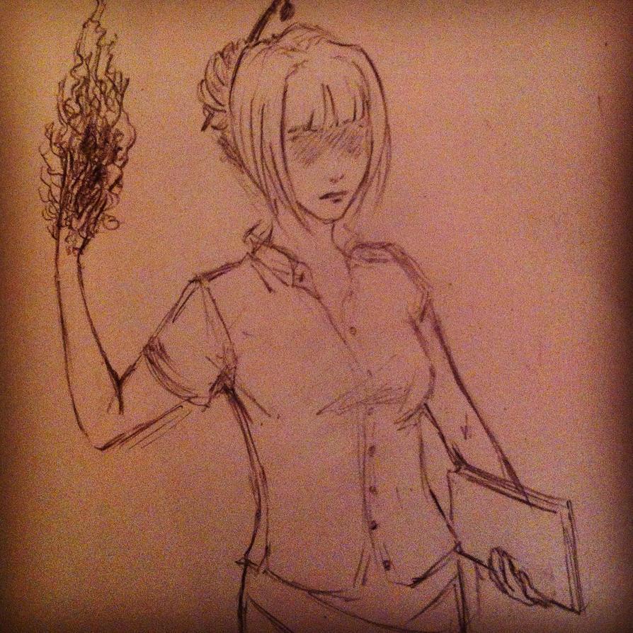 Fire Lady by ElenTheBrave
