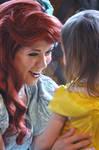 Ariel and Little Belle