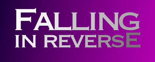 Falling In Reverse Logo Falling In Reverse The...