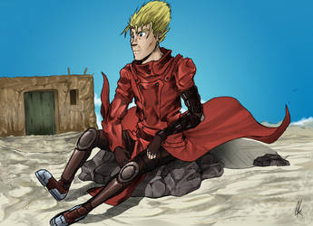 Vash the Stampede by Alex-NascimentoR