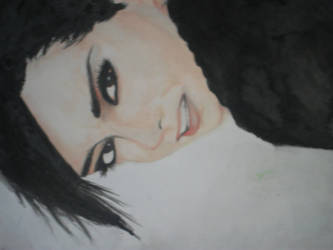 Bill Kaulitz painting by Coolbuddyrules
