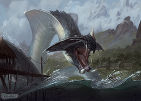 River Serpent by MariusBota