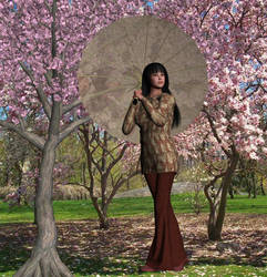 Cherry Blossom by CalieVee