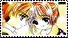 CCS stamp - Sakura Shaoran 02 by hanakt