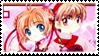 CCS stamp - Sakura Shaoran 07 by hanakt