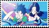 DBZ stamp - Gohan Videl 002 by hanakt