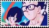 DBZ stamp - Gohan Videl 003 by hanakt
