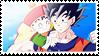 DBKai Stamp - GohanGoku 01 by hanakt