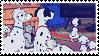 Disney Stamp - 101 Dalmat 002