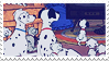 Disney Stamp - 101 Dalmat 002 by hanakt