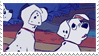 Disney Stamp - 101 Dalmat 003 by hanakt