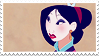 Disney Stamp - Mulan 007 by hanakt