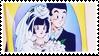 DBZ stamp - Gohan Videl 007 by hanakt