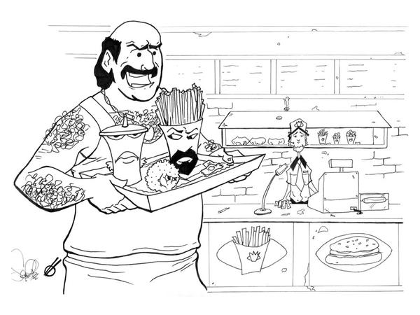 Aqua Teen Hungerforce Coloring Pages
