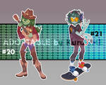 Adoptable auction #20-21 [OPEN]. by KuruTime