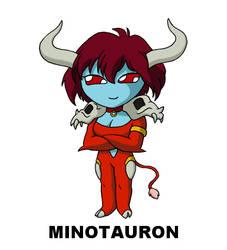 #132: Minotauron by TinySailorMoon