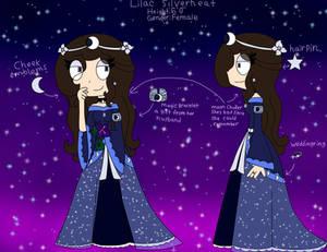 Lilac oc ref