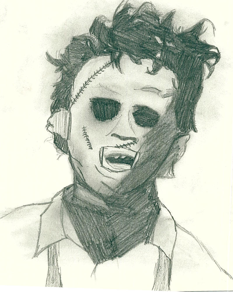 Leatherface Sketch by NotTheWalrus on deviantART