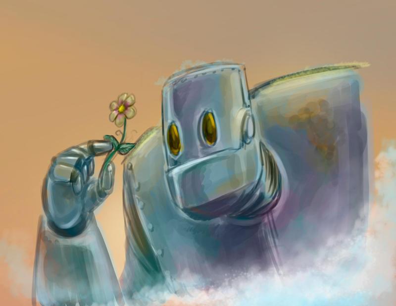 Robot colorSketch by murdokheras
