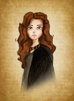 Melancholy of Hermione by Niranis