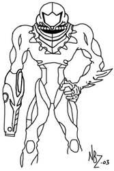 Samus Aran - Fusion Sketch