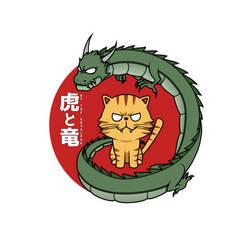 Tiger and Dragon by gryalphk
