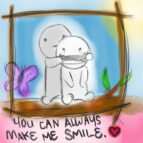 You Can Always Make Me Smile By Gangstakitteh On Deviantart