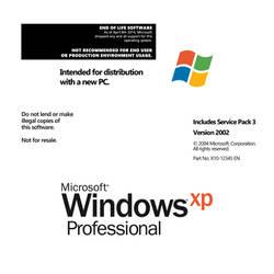 Windows XP CD Disc Printable Design