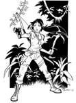 Lara Croft by CROMOU