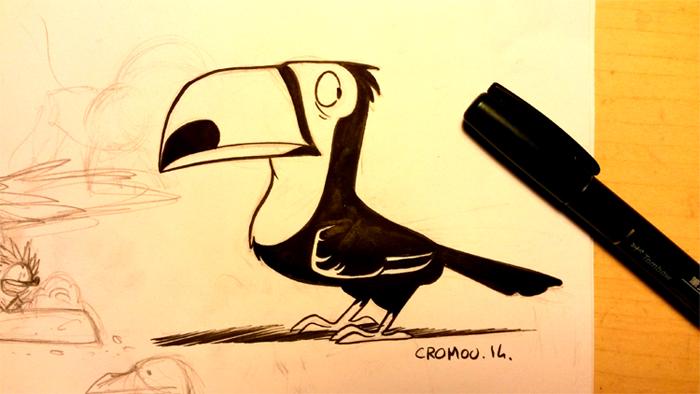 Inktober 06 by CROMOU
