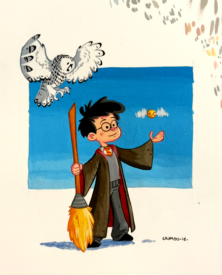 Harry Potter by CROMOU