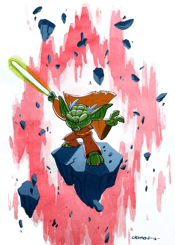 Master Yoda by CROMOU