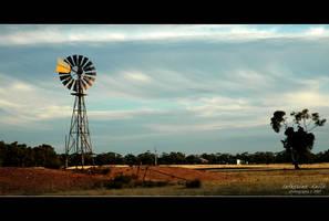 a tough land.. by cdaile