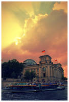The Reichstag by globalsinner