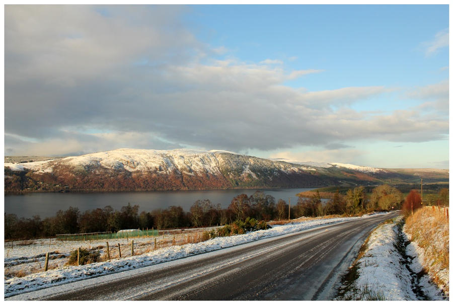 Winter's Heartland - Loch Ness